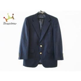 チャップスラルフローレン ジャケット サイズ90A4 メンズ ネイビー 肩パッド/ネーム刺繍 新着 20190827