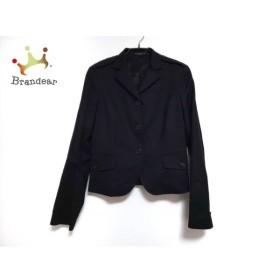 セオリー theory ジャケット サイズ2 S レディース 黒 肩パッド 新着 20190828