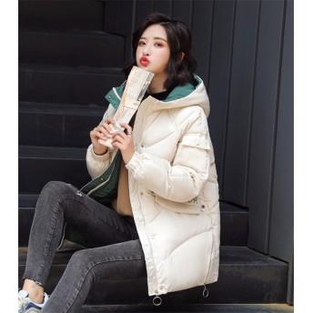 韓国ファッション ★レデイース ダウンジャケット 女性 ショート ウィンター 新品 女の子ファッション ゆったりする カジュアル INSスタイル コットン コート 小さい新鮮な トップス