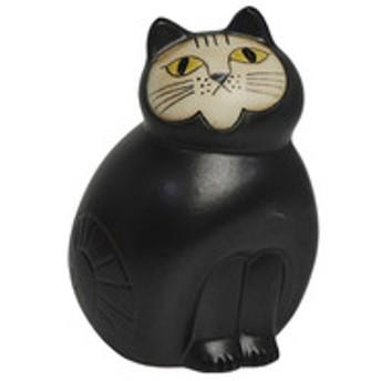 リサ・ラーソン ねこ キャットミア ミディアム(中) ブラック Mia Cat(Cats Mia)Midi 1150201 LisaLarson リサラーソン