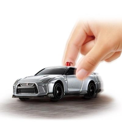 TOMICA 日產GT-R引擎音效 TM13676多美4D小汽車 公司貨