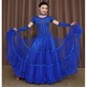 レディース ダンスウェア 社交ダンス衣装 社交ダンス モダン衣装 ドレス ワンピース タンゴ 練習着 社交ダンス 衣装 ダンス衣装