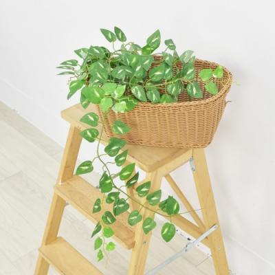 【Meric Garden】仿真白斑黃金葛藤 (6尺)