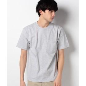 (ikka/イッカ)【HANES】ビーフィーポケットTシャツ/メンズ ライトグレー