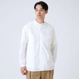 [マルイ] 無地タイプライターバンドカラーシャツ/ドレステリア(メンズ)(DRESSTERIOR Mens)