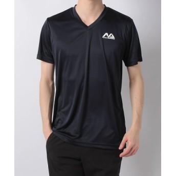 (SPORTS AUTHORITY/販売主:スポーツオーソリティ)ナンバー/メンズ/ベーシックVネックTシャツ/メンズ ネイビー