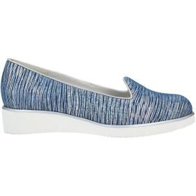 《期間限定 セール開催中》SORAYA レディース パンプス ブルー 39.5 紡績繊維