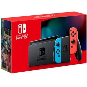 Nintendo Switch Joy-Con(L) ネオンブルー/(R) ネオンレッド【2019年8月発売新型】 HAD-S-KABAA