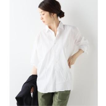 【スピック&スパン/Spick & Span】 INDIVIDUALIZED SHIRTS 別注ビッグシャツ