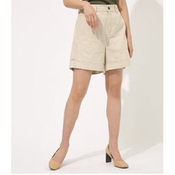 【AZUL by moussy:パンツ】LINEN SHORT PANTS