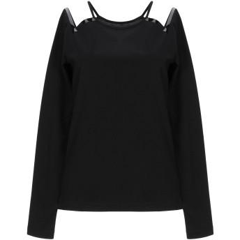 《セール開催中》MAISON MARGIELA レディース T シャツ ブラック M コットン 100%