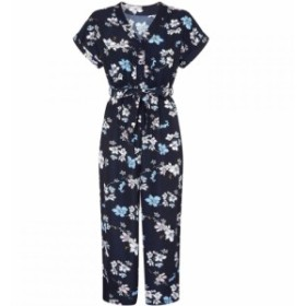 メーラ Mela レディース オールインワン ワンピース・ドレス Animated Floral Jumpsuit Navy