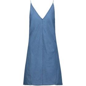 《期間限定セール開催中!》J BRAND レディース ミニワンピース&ドレス ブルー XS コットン 88% / シルク 12%