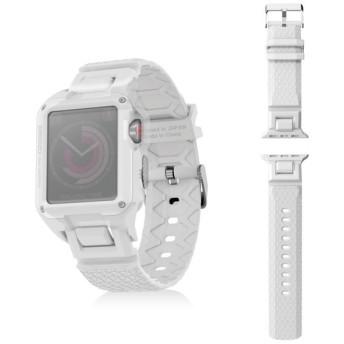 ELECOM AW-38BDZEROWH Apple Watch 38mm ZEROSHOCKバンド ホワイト その他アクセサリ (スマートフォン・iPhone)