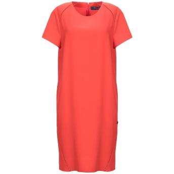 《セール開催中》TRUSSARDI JEANS レディース ミニワンピース&ドレス オレンジ 40 ポリエステル 97% / ポリウレタン 3%
