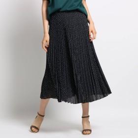 【マシンウォッシュ】ジオメプリーツスカート