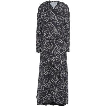 《セール開催中》SOUVENIR レディース 7分丈ワンピース・ドレス ブラック XS ポリエステル 100%