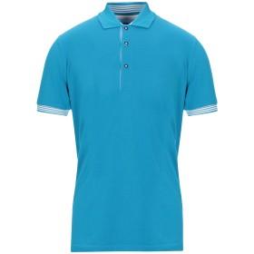 《セール開催中》FEDELI メンズ ポロシャツ パステルブルー 46 コットン 100%