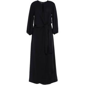 《セール開催中》SOALLURE レディース ロングワンピース&ドレス ブラック 40 ポリエステル 100%