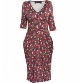 ヘレンマクアリンデン Helen McAlinden レディース ワンピース ワンピース・ドレス Print Vintage Dress Multi-Coloured