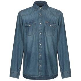 《期間限定 セール開催中》ONLY & SONS メンズ デニムシャツ ブルー S コットン 100%