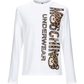 《期間限定セール開催中!》MOSCHINO メンズ アンダーTシャツ ホワイト XS コットン 92% / ポリウレタン 8%