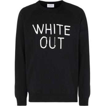 《期間限定セール開催中!》WOOD WOOD メンズ スウェットシャツ ブラック S オーガニックコットン 100% HESTER