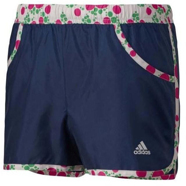 (セール)adidas(アディダス)レディーススポーツウェア ウインドアップハーフパンツ W adidasbloom ウインドショーツ ITX24 S03524 レディース NAVY GREY