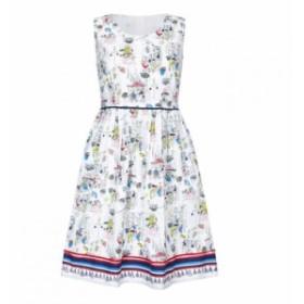 ユミ Yumi レディース ワンピース ワンピース・ドレス Tapas Print Skater Dress Multi-Coloured