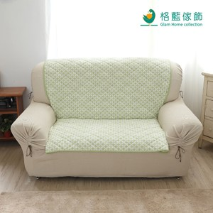 格藍傢飾 北歐幾何沙發墊1+2+ 3人 青草綠
