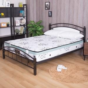 【YFS】瑪莉提白金透氣款-天絲布舒眠透氣硬式雙人加大6尺獨立筒床墊