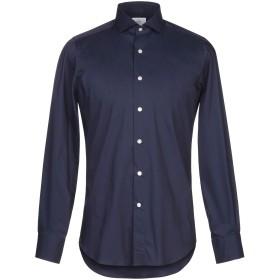 《期間限定セール開催中!》MASSIMO LA PORTA メンズ シャツ ダークブルー 39 コットン 67% / ナイロン 30% / ポリウレタン 3%