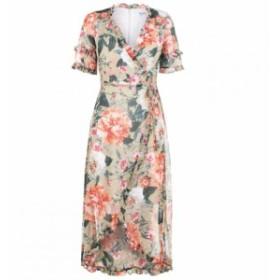 ケンジー Kensie レディース ワンピース ワンピース・ドレス Wrap Dress SAGE MULTI