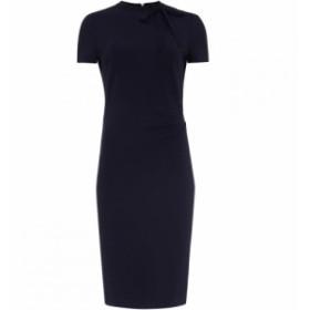 フェーズ エイト Phase Eight レディース ワンピース ワンピース・ドレス Terrie Tie Neck Dress Navy