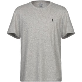 《期間限定セール開催中!》POLO RALPH LAUREN メンズ T シャツ グレー L コットン 100%