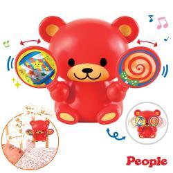 日本People-歡樂五感音樂小熊(不同的對話+旋律模式)