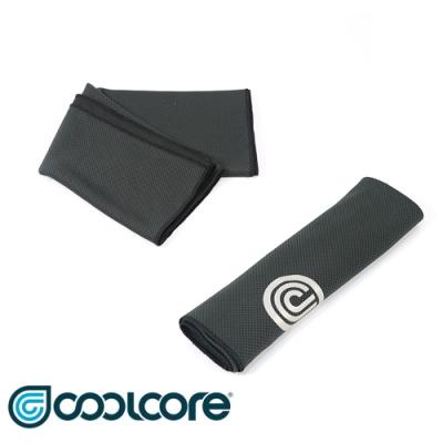 COOLCORE Chill Sport 涼感運動巾 黑色(涼感,降溫,運動)