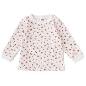 プティマイン(petit main)/【FRUIT OF THE LOOMコラボ】 総柄ワッフルTシャツ