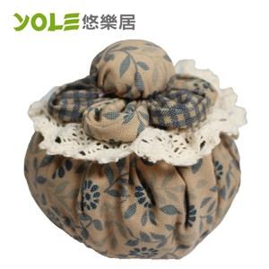 【YOLE悠樂居】花芯-花藝造型香炭包(2入) #1035060