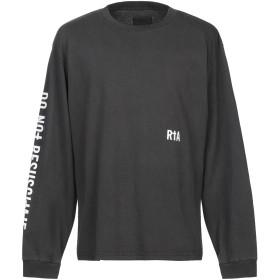 《セール開催中》RTA メンズ T シャツ 鉛色 S コットン 100%