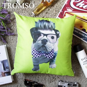 TROMSO品味英倫棉麻抱枕/龐克法鬥
