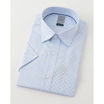 【SALE(伊勢丹)】<LORDSON/ロードソン> 半袖色ドビーワイシャツ(ZON612-250)(MO019N0MO00000GIL) 250スカイブルー 【三越・伊勢丹/公式】