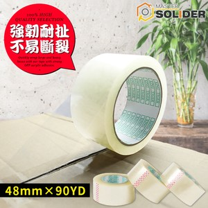 【MS】黏度升級 透明opp強韌封箱膠帶(30入)