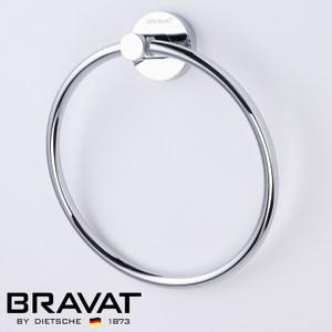 BRAVAT 貝朗 融宜不鏽鋼毛巾環 D7247C