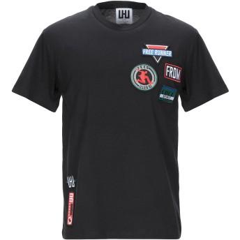 《期間限定セール開催中!》URBAN LES HOMMES メンズ T シャツ ブラック S コットン 100%