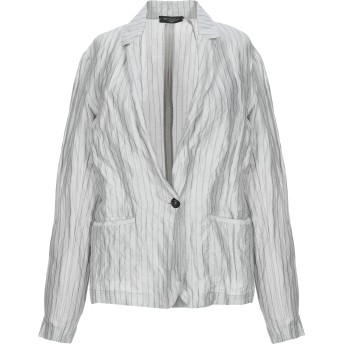 《セール開催中》ANTONELLI レディース テーラードジャケット ライトグレー 42 コットン 75% / シルク 14% / 金属 11%