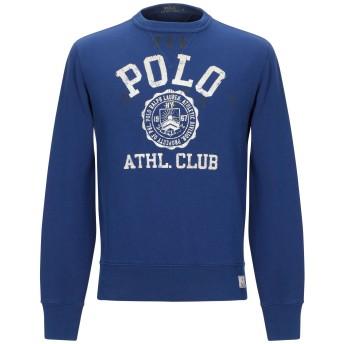 《9/20まで! 限定セール開催中》POLO RALPH LAUREN メンズ スウェットシャツ ブルー S コットン 87% / ポリエステル 13%