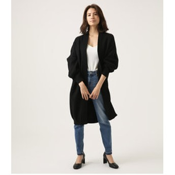 【AZUL by moussy:トップス】SWEATTER LONG CARDIGAN