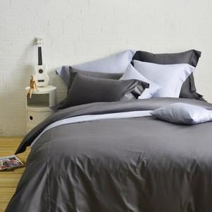 Cozy inn簡單純色-200織精梳棉床包-特大(多款顏色任選)丁香紫