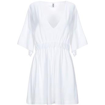 《セール開催中》MOSCHINO レディース ビーチドレス ホワイト XS コットン 92% / ポリウレタン 8%